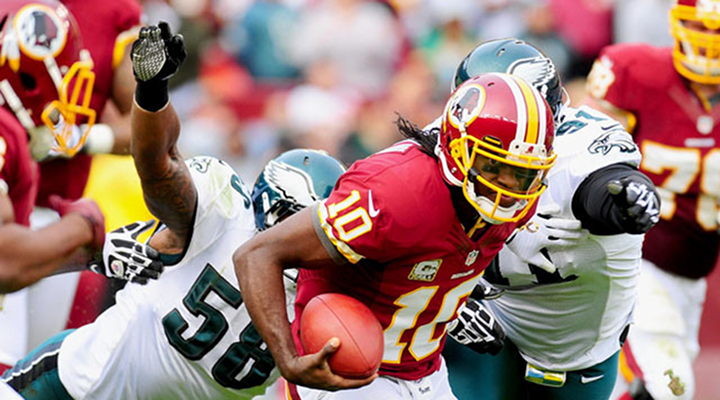 Eagles DL Mychal Kendricks Suplexed RG3 to the Ground and Redskins Fans Held Their Breath [Video]