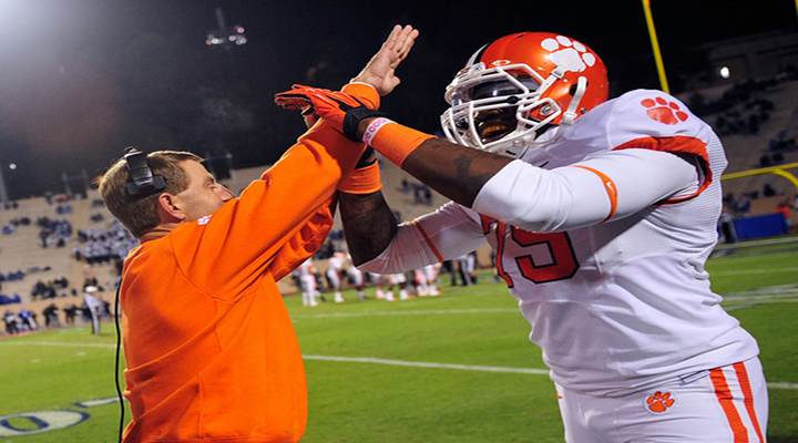 Clemson Tackle Isaiah Battle Was Ejected For Fighting in Tigers Win Over N.C. State [Video]