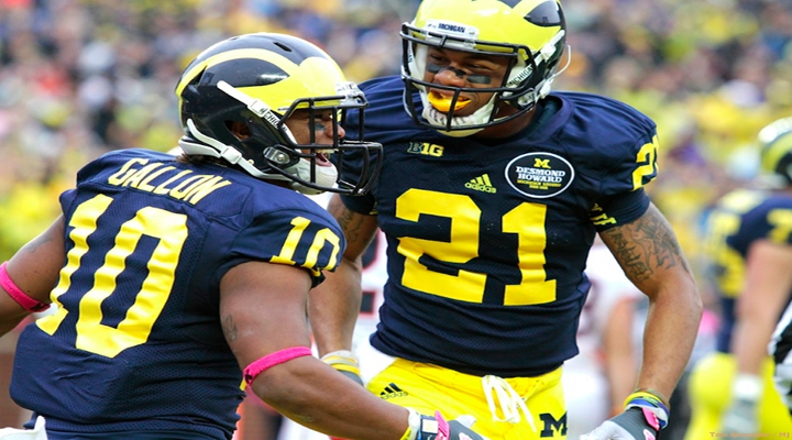 Michigan's Jeremy Gallon's Spin Move For A 61-Yard Touchdown Was Something Out of a Video Game [Video]