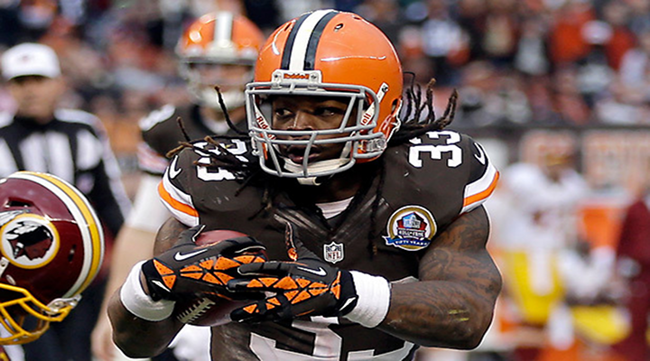 Trent Richardson: Browns Trade Star Running Back to Colts For 1st Round Pick