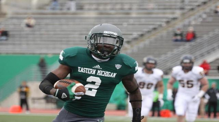 Eastern Michigan Receiver Demarius Reed Found Dead, Reportedly From Apparent Gunshot Wound