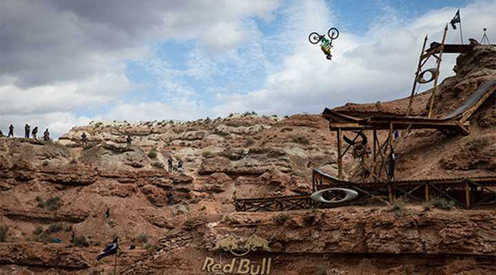 Wide World of Sports: Biggest Mountain Bike BackFlip in the History of Mountain Bike BackFlips [Video]