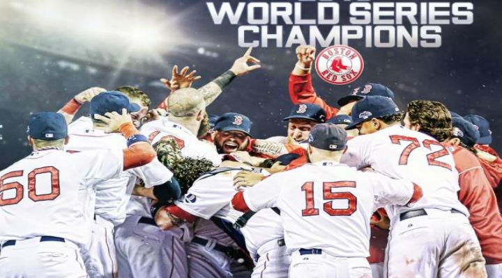 The Boston Red Sox are 2013 World Series Champs