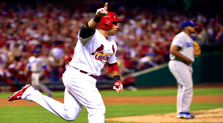 NLCS Game 1: Carlos Beltran Threw Out Mark Ellis at Home in 10th Inning, The Hit Game Winning RBI  [Video]