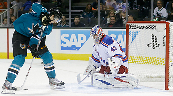 Tomas Hertl: Sharks Rookie Went Between His Legs on a Breakaway for the Goal of the Year [Video]