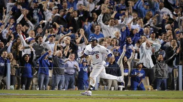 Juan Uribe's Titanic Home Run Sends the Dodgers into the NLCS [Video]