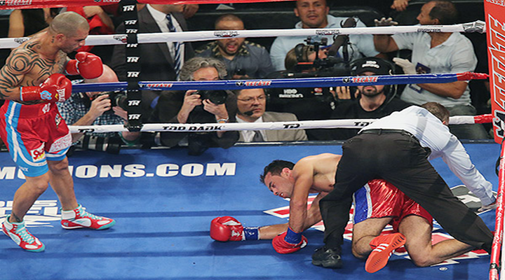 Miguel Cotto Destroyed Delvin Rodriguez with Vicious Third Round Flurry [Video]