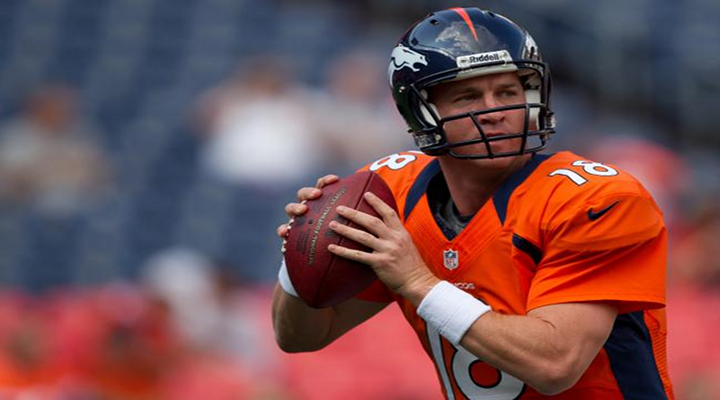 Peyton Manning's First Rushing Touchdown in 5 Years Faked the Hell Out of Everyone [Video]
