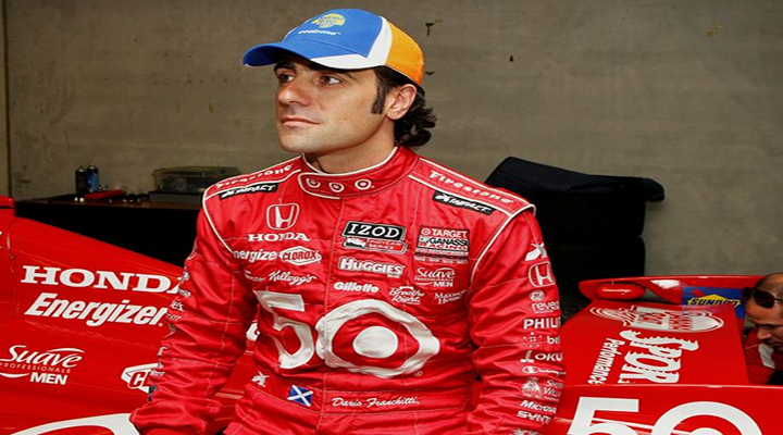 Dario Franchitti Involved In Scary Crash That Destroyed His Car at Grand Prix of Houston