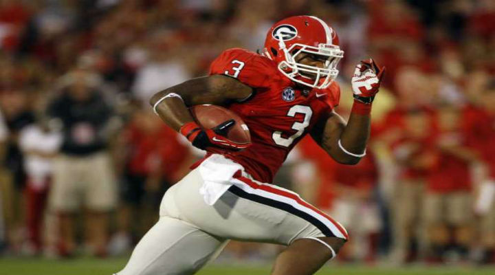 Todd Gurley Ran Right Through Florida's Defense for a 73-Yard Touchdown, Then Left with a Ankle Injury [Video]