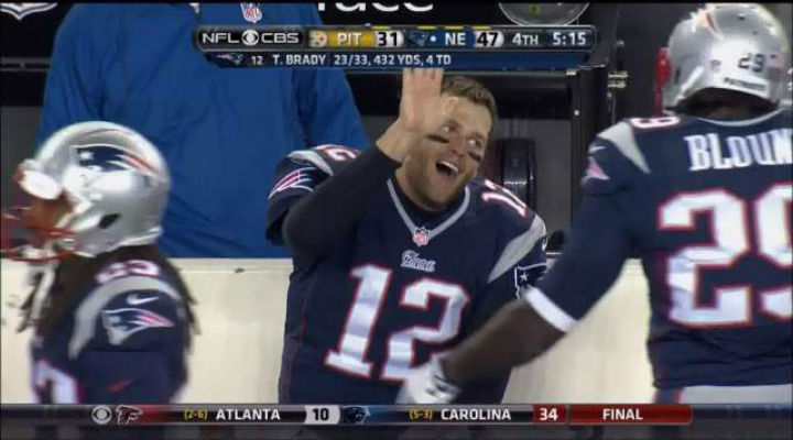 Tom Brady Was Back to Being Tom Brady and Showed Is His Knew Happy Face High Five [Video]