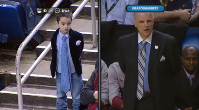Phil Martelli's Grandson Gives Adorable Interview During Saint Joe's-UConn Game