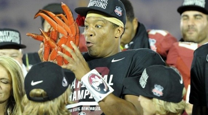 Jameis Winston Suspended from FSU Baseball Team After Being Issued Citation For Stealing Crab Legs [UPDATE]
