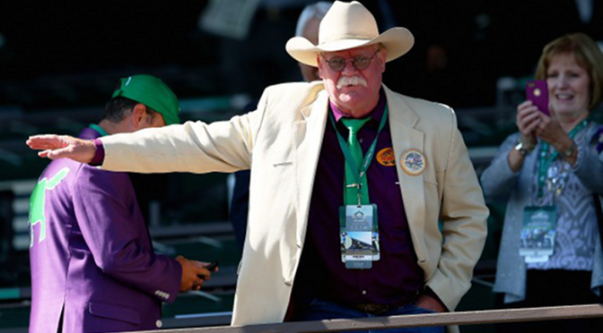 """California Chrome Owner Rants About """"Coward's Way Out"""" After Triple Crown Bid Falls Short [Video]"""