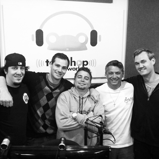 #ThrowBackThursday One our first shows in new Hollywood Studios. With @joshpacheco @mootecomedy @johnnyicebox @BudKnocker @AndrewSleighter! #SportsCastFamily #LivinTheDream #2012 #ToadHopNetwork #DaBoys #GoodTimes #Hollywood