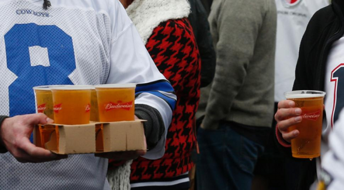 This Chart Of Beer Prices In Every NFL Stadium Proves Drinking At Games Is A Rip-Off
