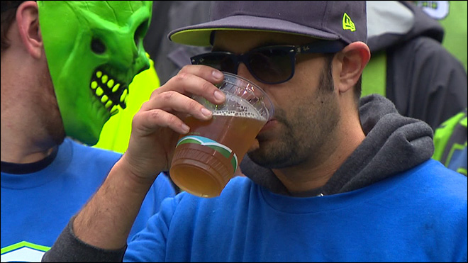 Scientific Tests Show, Seattle Seahawks Are Selling Their Fans Watered Down Beer