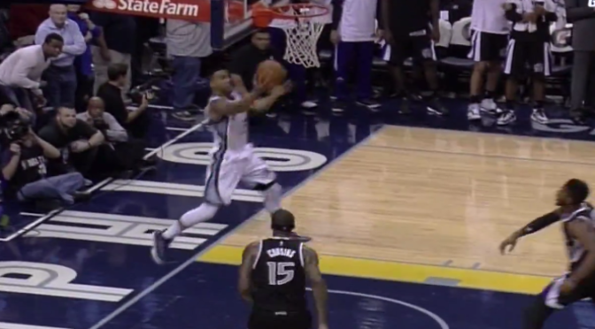 Grizzlies' Courtney Lee Makes Buzzer-Beater Layup to Beat Kings with .3 Left