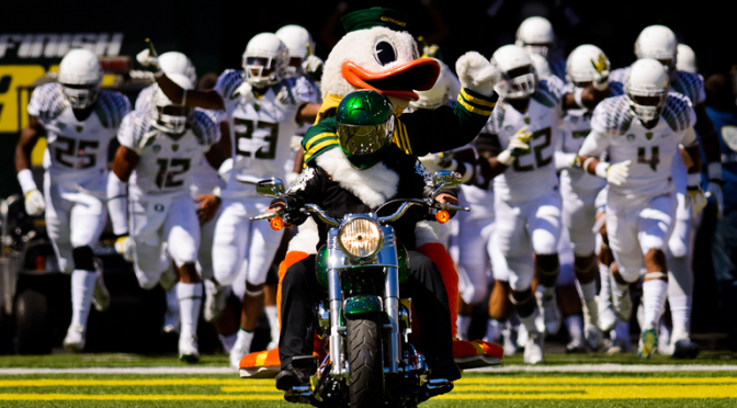 Playoff Committee's Top 25: Oregon Moves into Top Four