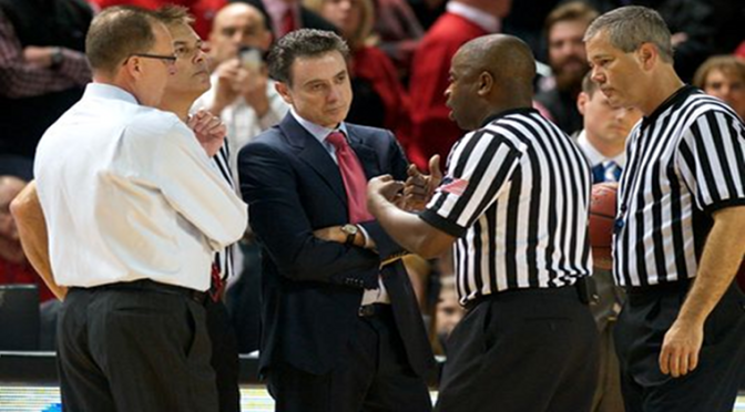 Louisville and Western Kentucky Fight, Referee Gets Hit, Montrezl Harrell Ejected [Video]