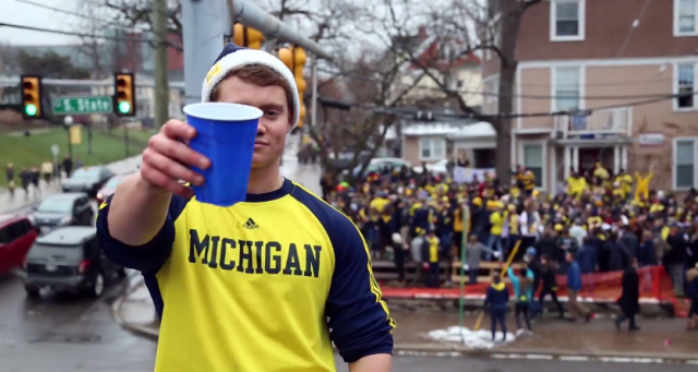University Of Michigan Party Video Declares The Wolverines Are 'Still Better Than Your School'