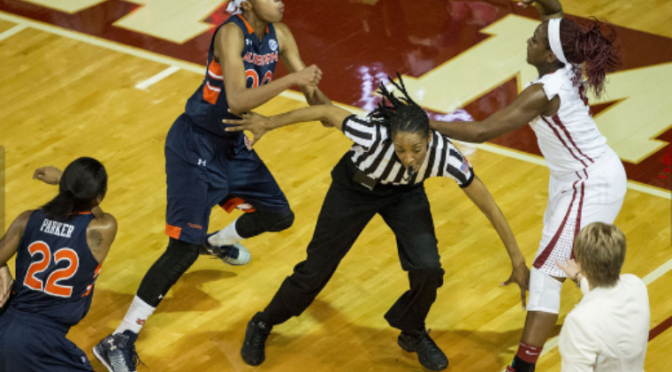 Alabama vs. Auburn Fight in Women's Basketball Game, Punches Thrown [Videos]