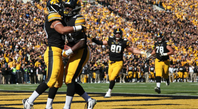 "Iowa Running Backs Ticketed For ""Disorderly House"" After Inviting Entire Class of 2017 to Party"