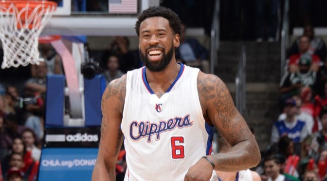 DeAndre Jordan Gave a Hilariously Distracted Postgame Interview [Video]