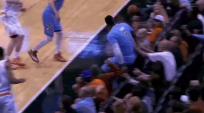 Clippers Center Glen 'Big Baby' Davis Sits On Woman's Face After Diving For Loose Ball [Video]