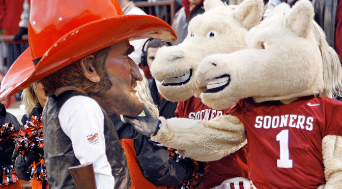 Oklahoma Sooners Mascot Fired For Repeatedly Harassing Oklahoma State Fans & Travis Ford's Wife