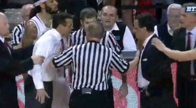 Tom Crean and Tim Miles Had a Heated Altercation [Video]