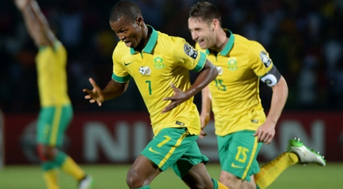 Mandla Masango Volley is a Contender for Best Goal of the Africa Cup of Nations [Video]