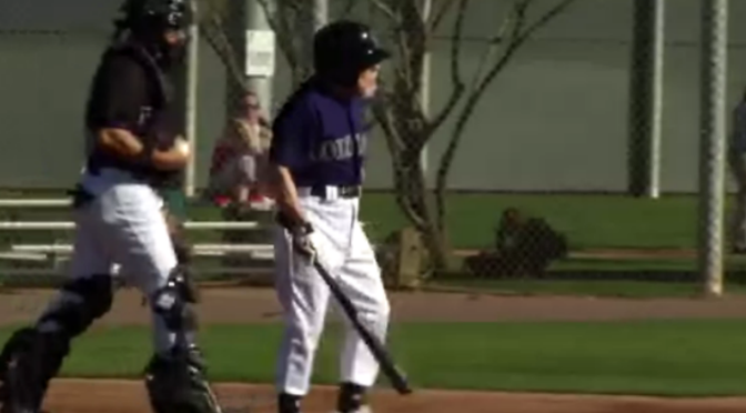 88-Year-Old Badass Charges The Mound At Rockies Fantasy Baseball Camp [Video]
