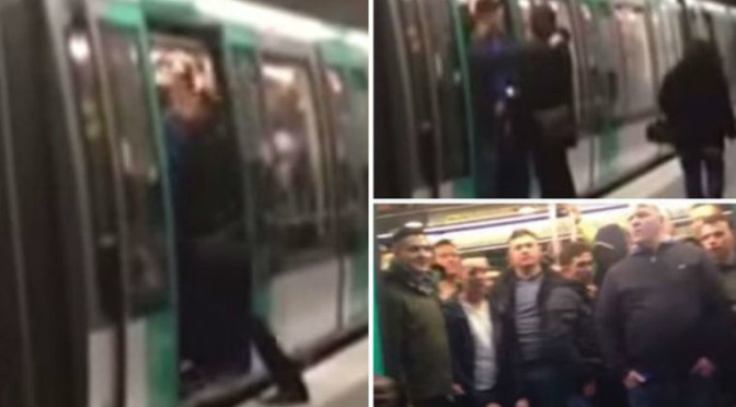Racist Chelsea Fans Blocked Black Passenger From Boarding Paris Metro Train [Video]