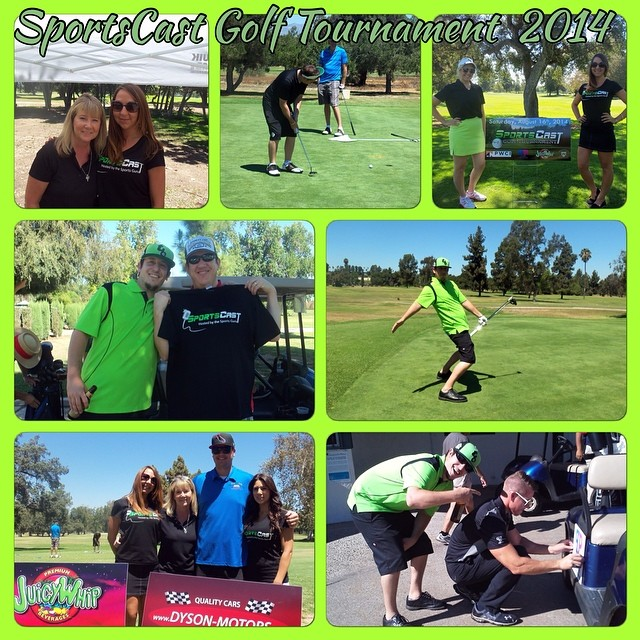 Some more great moments from the #SportsCast Golf Tournament. #GoodTimes #SportsCastFamily #LiveEvent #Links #GreatestFansInTheWorld