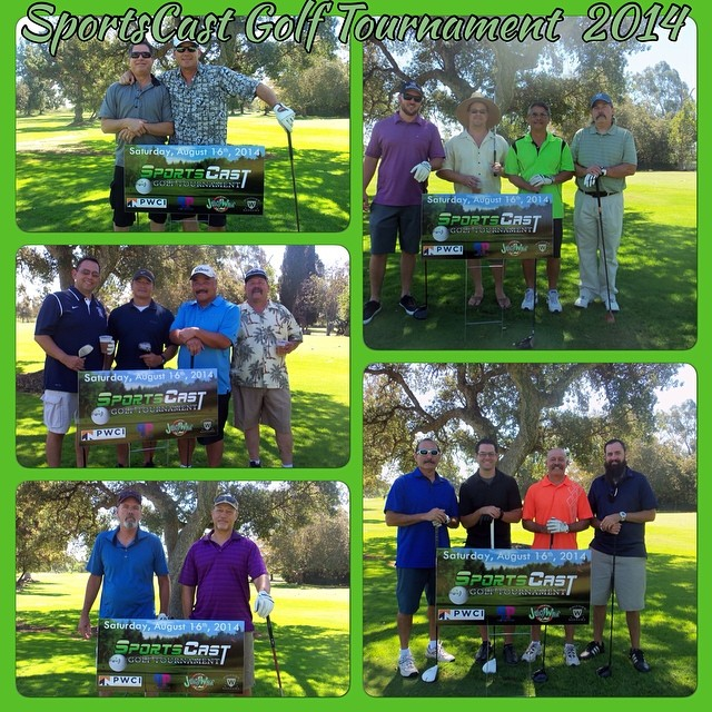 #SportsCast 2014 Golf Tournament at Whittier Narrows Golf Course. #GoodTimes #LiveEvent #Links #SportsCastGolfTourney #MenAndNature #OurFansRock