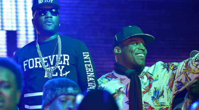 Cam Newton On Stage With Young Jeezy at Charlotte Nightclub Right Before People Were Shot
