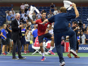 TEN-US OPEN-DJOKOVIC-HAIDER-MAURER