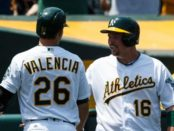 billy-butler-injury-athletics-danny-valencia-clubhouse-altercation